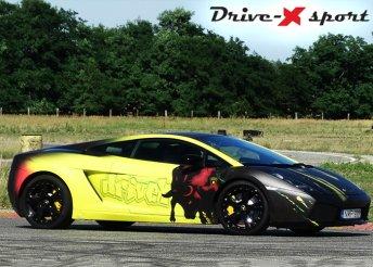Vezetés Lamborghini Gallardo sportautóval