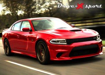 Élményvezetés Dodge Charger versenyautóval