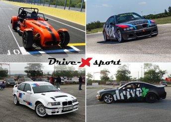 Élményvezetés 4 autóklasszikussal a DRX Ringen