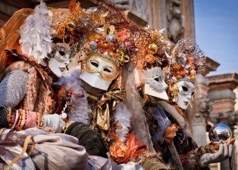 Karneváli hétvége Velencében