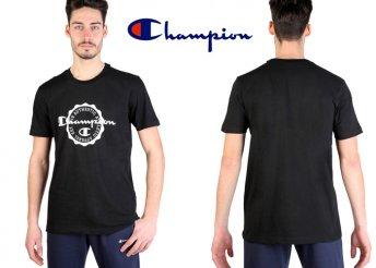 Divatos, rövid ujjú, pamut Champion póló férfiaknak