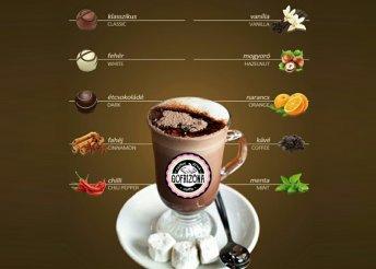 Különleges gofri és forró csoki