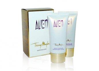 Alien by Thierry Mugler szett testápolóval és tusfürdővel