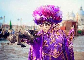 Utazás a mesebeli velencei karneválra