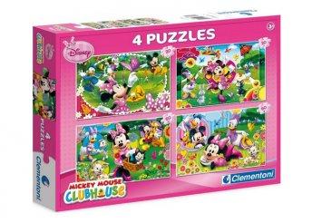 Clementoni, Disney Minnie figurás puzzle
