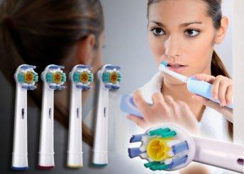4 darabos 3D-s fogkefefej csomag