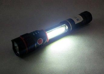 Zseblámpa és COB LED lámpa egyben