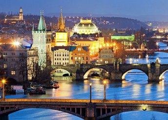 Irány Prága, a száztornyú város