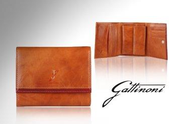 Elegáns, női, bőr Gattinoni márkájú pénztárca