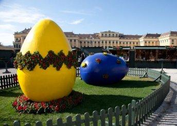 Húsvét a Schönbrunni kastély parkjában