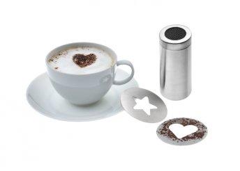Forró csoki és cappuccino shaker szett