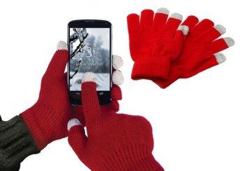 Okos kesztyű okostelefonokhoz vagy tabletekhez! Univerzális méretű, fekete i-total kapacitív kesztyű!