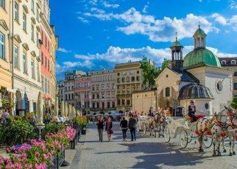 Városnézés Krakkóban kirándulásokkal