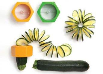 Zöldség spirálozó