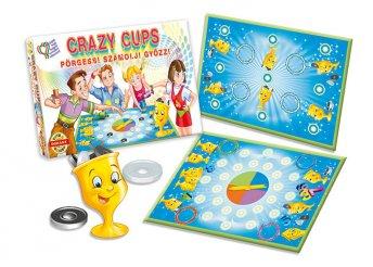 Crazy Cups poharas társasjáték