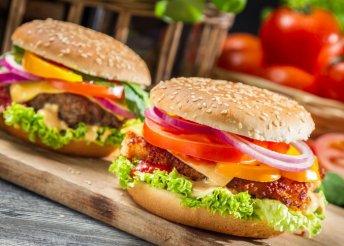 Hamburger tál 2 főnek a Dunakavics Étteremben