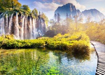 Kirándulás a világörökségi Plitvicei-tavakhoz
