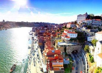 4 napos városlátogatás Portoban 2 főnek