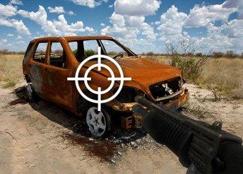 Roncslövészet dum-dum golyóval, shotgunnal