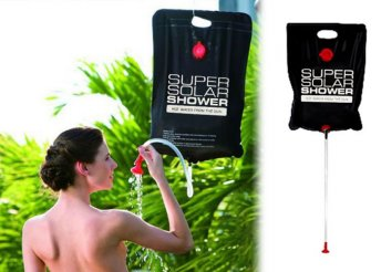 15 literes zuhanyzsák kempingezőknek
