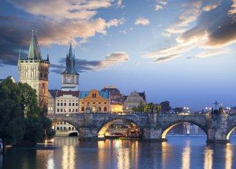 4 nap Prága központjában reggelivel 2 főnek