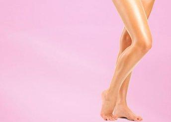 A teljes láb, bikinivonal és hónalj gyantázása