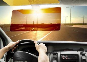 Látássegítő napellenző autóvezetéshez