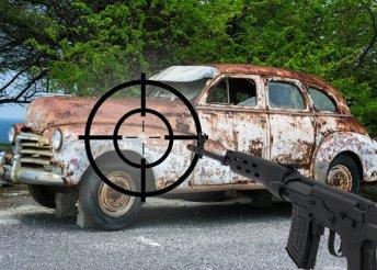 Roncslövészet igazi Dragunov puskával