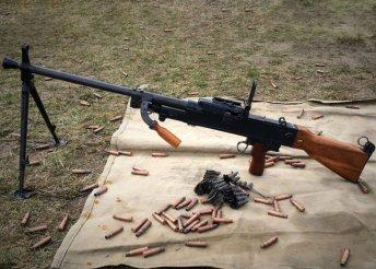 Bunkerlövészet UK-59 géppuskával