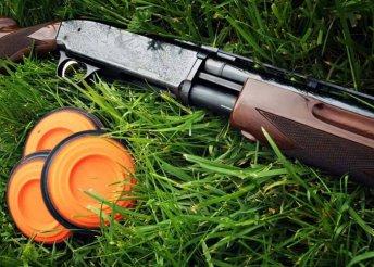 Koronglövészet 55 golyóval, oktatással