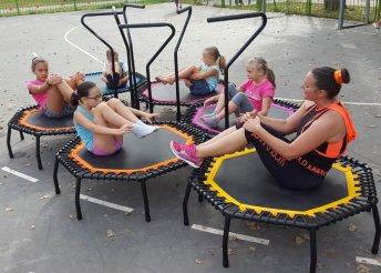 Trambulinos, táncos edzés gyermekeknek
