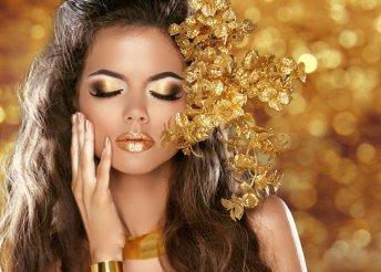 Exkluzív anti-age kezelés 24 karátos arannyal