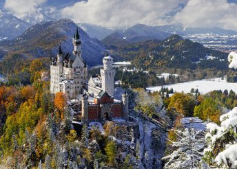 Csodáld meg Neuschwansteint és Salzburgot