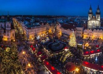 Prágai városnézés Adventkor