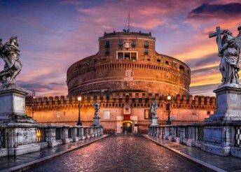 Késő őszi városnézés Rómában