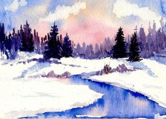 Akvarell tájképfestő tanfolyam