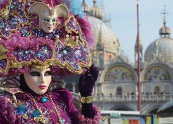 Utazz el a káprázatos Velencei Karneválra