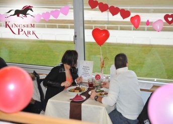Varázslatos Valentin-nap a Kincsem Parkban