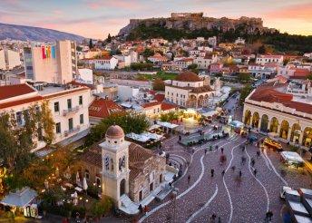Repüljetek el Athénba – 4 nap háromcsillagos szállással, reggelivel, utazással 2 főnek