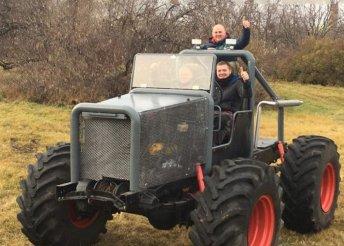Mad Max Big Foot élményvezetés a gyáli motocross pályán
