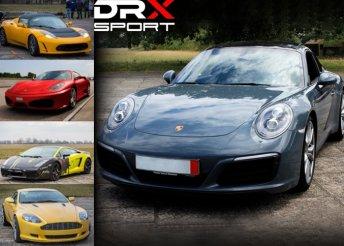 Vezess híres autócsodákat a DRX-Ringen