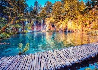 2 napos kirándulás a Plitvicei-tavakhoz, 3*-os szállással, félpanzióval