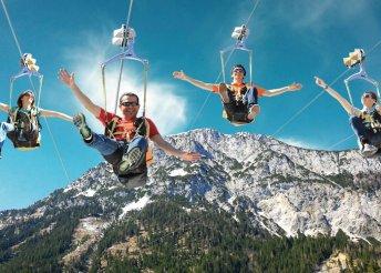 Irány az Alpok legnagyobb drótkötélpályája
