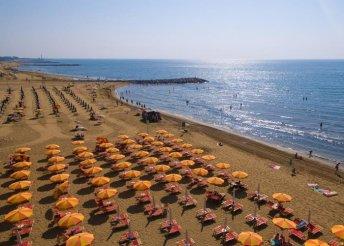 8 nap Cavallinoban, közvetlenül az Adriai-tenger partján 5 főnek