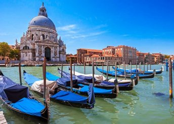 Kirándulás a gondolák városába, Velencébe