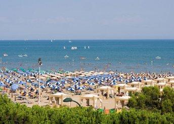 Egynapos strandolás az olaszországi Adrián