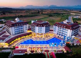 Ultra all inclusive, 5-csillagos tengerparti lazítás egy héten át Törökországban