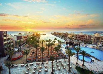 Vörös-tengeri all inclusive pihenés 4*-os hotelben, repülőjeggyel