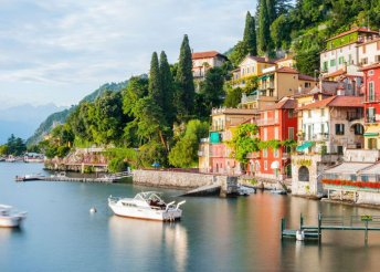 A Comói-tó villái és a divat fővárosa, Milánó
