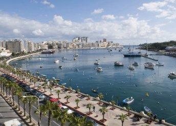 Csúcsélmények Máltán: 8 nap 2 főnek 3*-os hotelben, reggeli és repülőjegy